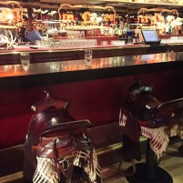 Cowboy Bar saddles
