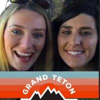 Elisabeth and me Grand Teton NP
