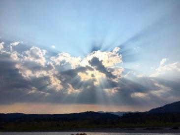 Wyoming Sky
