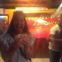 My bestie won $100 BZ