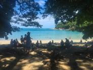 Easily accessible busier beaches