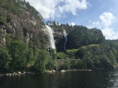 Bergen-Mostraumen Fjord Cruise - Heskjedalsfossen