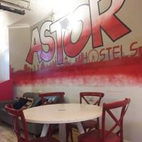 Astor Hostel Dining Room