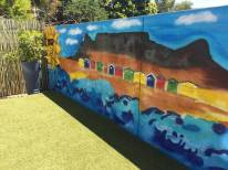 Mural Art in Court Yard